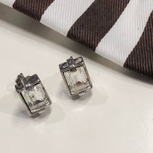 Henri bendel large diamond studs